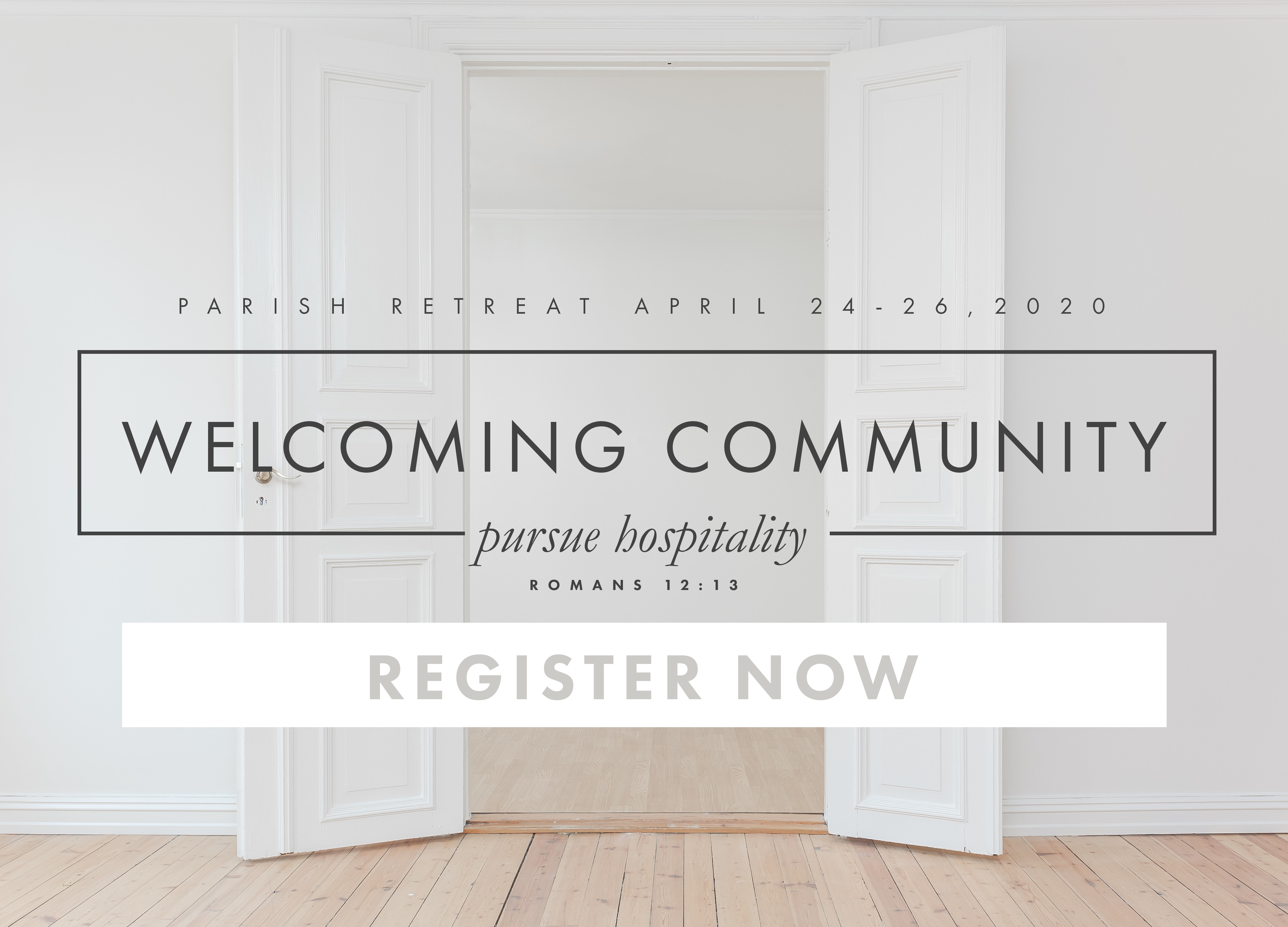 PARISH RETREAT 2020-REGISTER